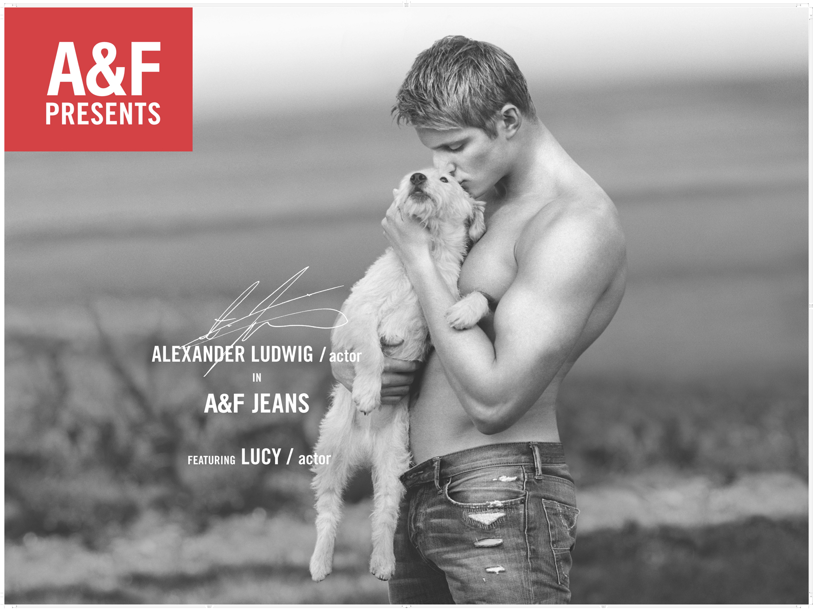 Abercrombie & Fitch Alexander Ludwig