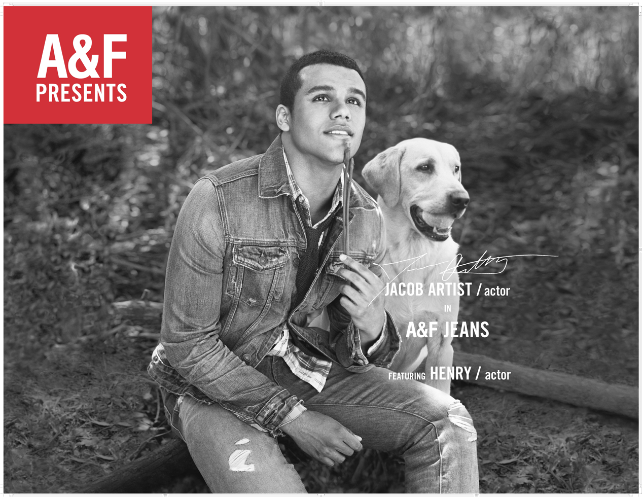 Abercrombie & Fitch Jacob Artist